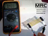 Testing of Dye Solar cell