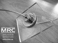 стеклодержатель для тросовой системы