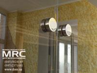 стеклоперегородка: фурнитура крепления стекла