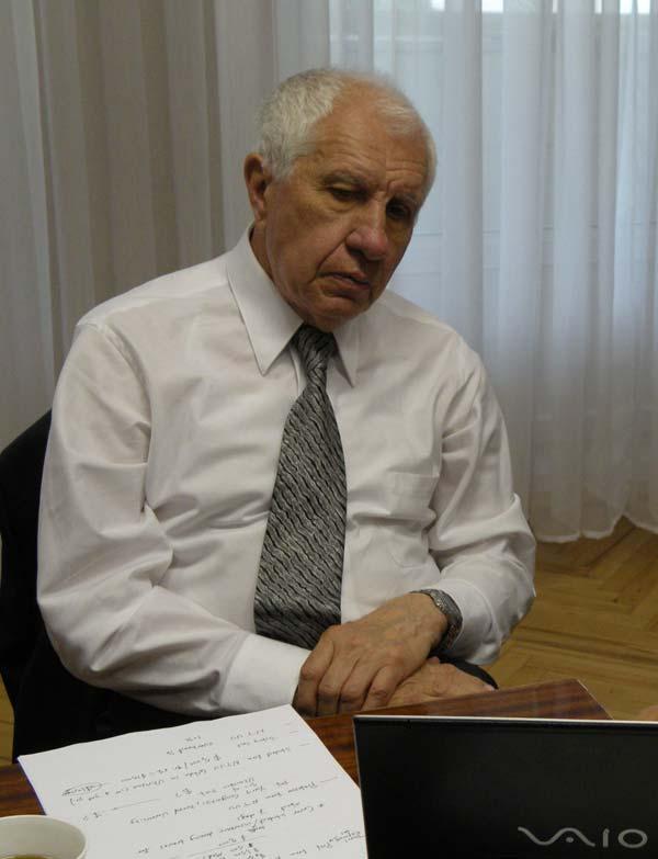 профессор Георгий Антонович Гогоци