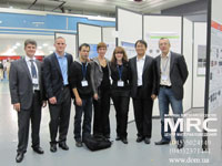 Drexel team and French partners at the International Society of Electrochemistry meeting