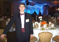 Профессор Ю. Гогоци на банкете Annual Enterprise Awards