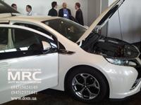 Opel Ampera model electrocar