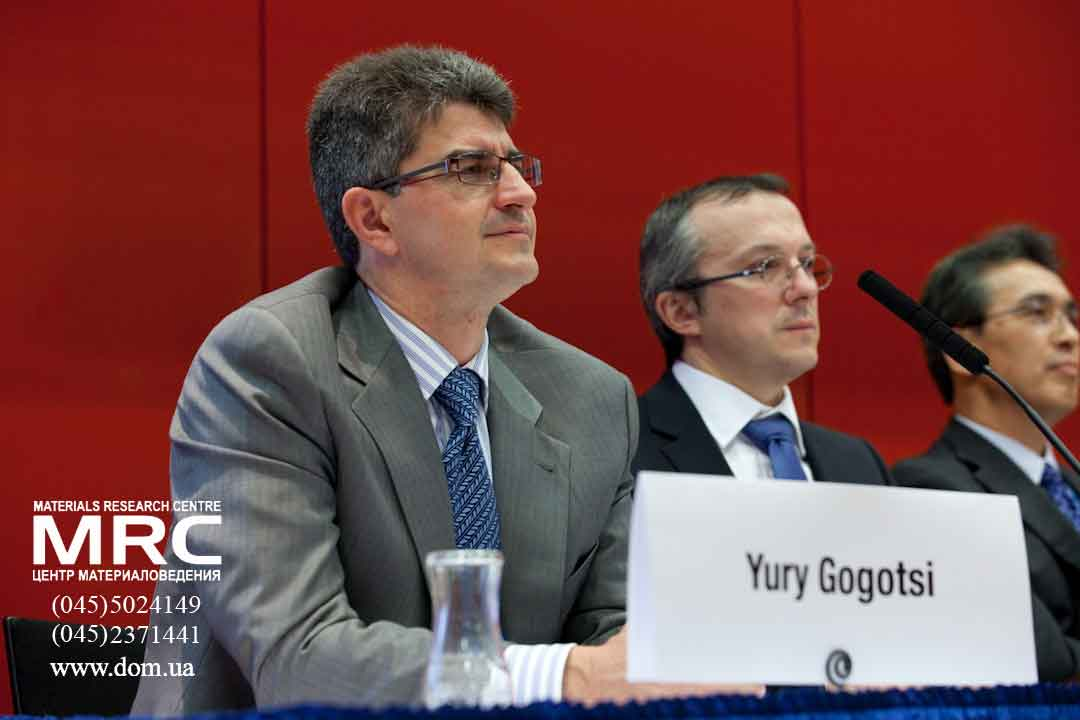 Professor Yury Gogotsi and Patrice Simon, AABC Europe conference