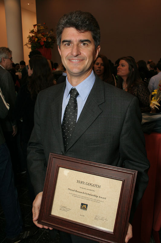 Prof. Yury Gogotsi Drexel-Research-Award-2009