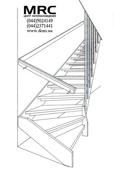 Лестница своими руками. Чертеж