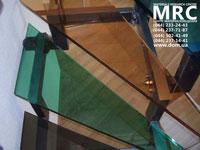 Цветные ступени - стекло триплекс