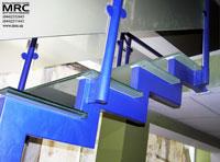 Металоконструкция лестницы