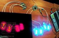 интерактивное управление светодиодной подсветкой