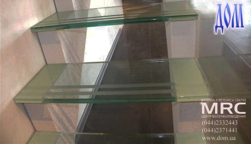 стекло - держатели ограждений из нержавеющей стали