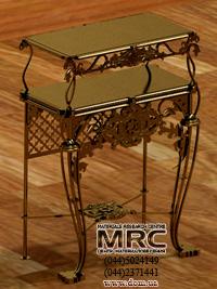 3D модель латунного столика