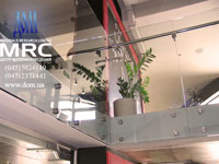 Крепление стеклянных панелей из высококачественной полированной нержавеющей стали
