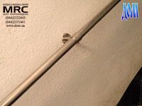 Наружные ограждения закрепленное на стене