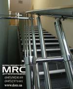 Ограждение для бетонной лестницы