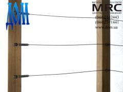 деревянная стойка с металлический сердечником