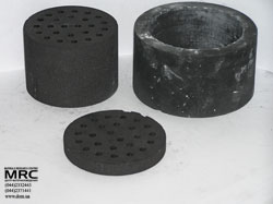 Products made of boron carbide