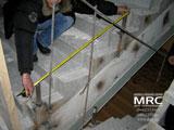 Монтаж сходів із кованою огорожею в Кловском палаці правосуддя