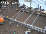 Виготовлення металевого каркасу для навісу