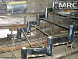 Виготовлення металевого каркасу для сходів