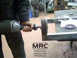 Шліфовка трапу з неіржавіючої сталі