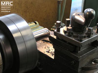 rotating workpart, turning