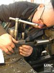 Металлообработка заготовки на токарном станке