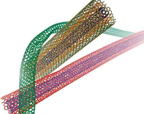 углеродные нанотрубки взаимодействуют  между собой  с помощью связей Ван-дер-Ваальса.Ю.Гогоци