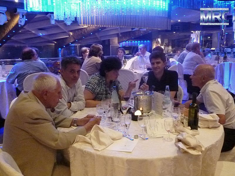 Farewell dinner of The 12th International Ceramics Congress