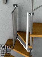 ограждения на лестницу для детей