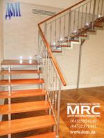Общий вид лестницы