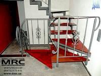 Лестница с 4 косоурами