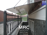 Canopy. Tempered triplex