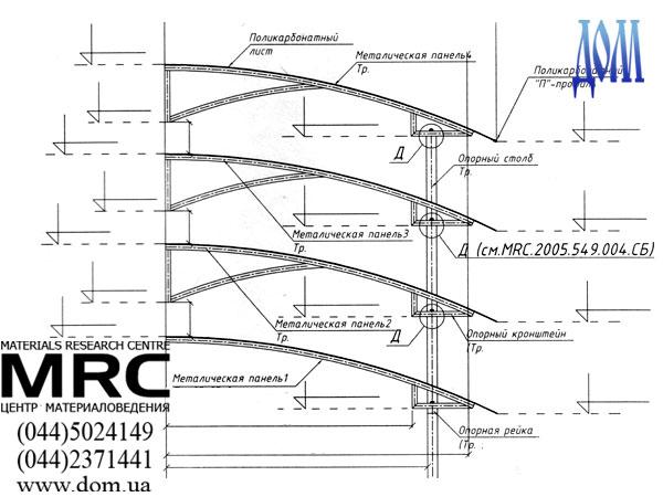 Как сделать навес из поликарбоната для машины на.  Навесы: Навес - это легкая и воздушная конструкция способна...