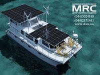 Ветрогенераторы и солнечные батареи на яхтах, судах